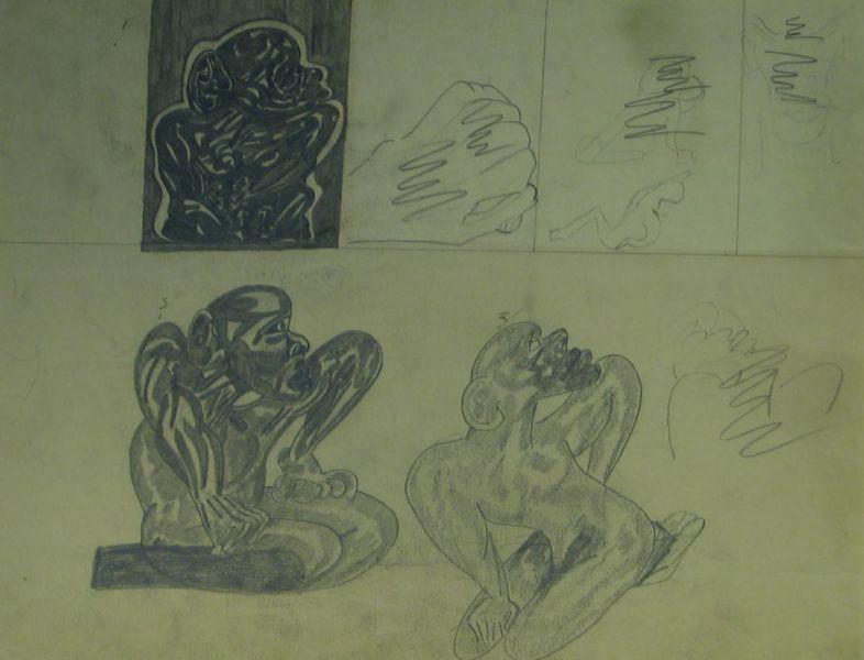 Deformed Negroid Figures - LDBTH:65