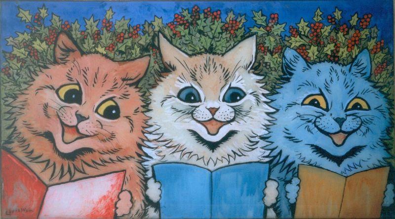 Carol Singing Cats - LDBTH:109