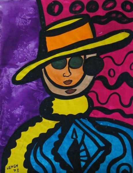 David Hockney V - LDBTH:257