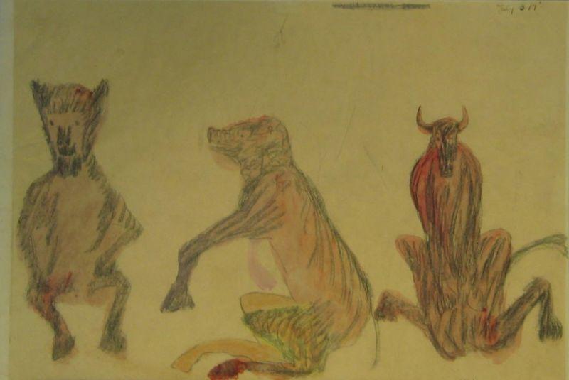 Lamb, Pig, Cow - LDBTH:441