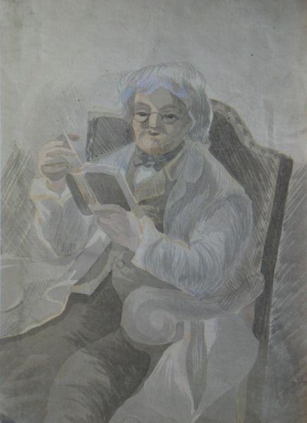 Man Reading - LDBTH:516