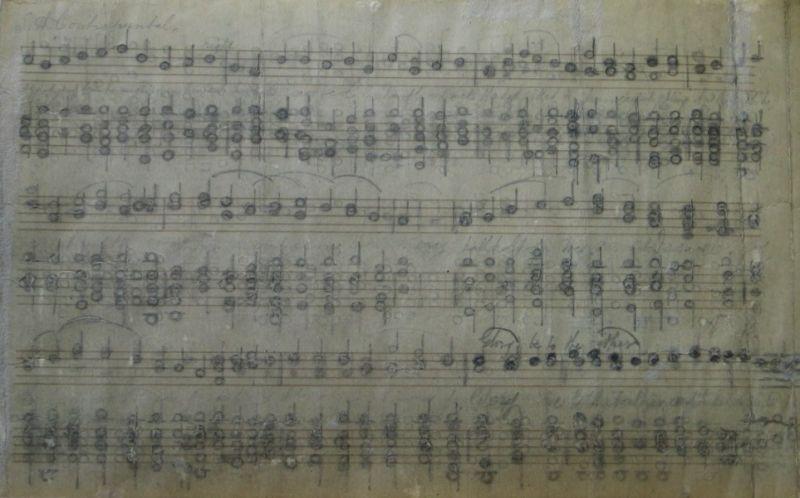 Musical Manuscript II - LDBTH:540v