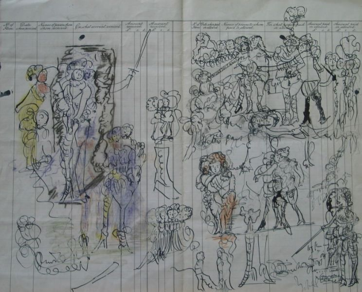 Cavalier Figures I - LDBTH:549r