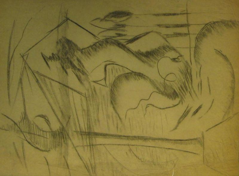 Charcoal Sketch I - LDBTH:572
