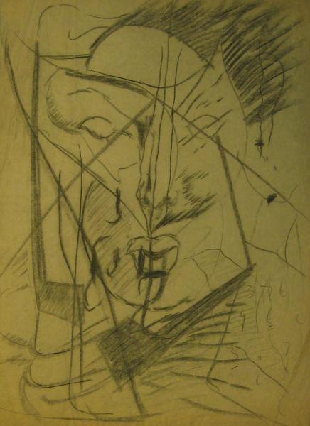 Charcoal Sketch VII - LDBTH:578