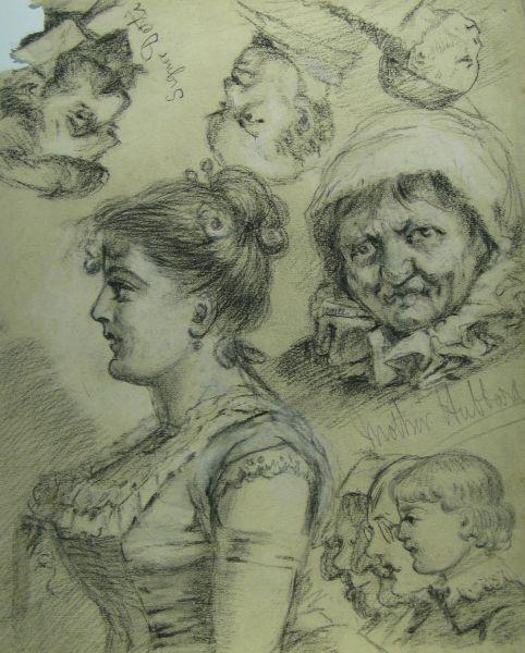 Character Sketch VIII - LDBTH:635